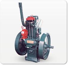 Single Cylinder Mini Alternator Diesel Engine Single Cylinder Air